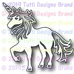 Tutti Designs - Cutting Die - Unicorn