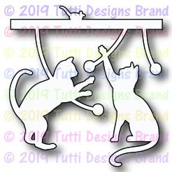 Tutti Designs - Cutting Die - Playful Cats