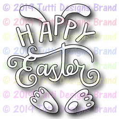 Tutti Designs - Cutting Die - Happy Easter Bunny