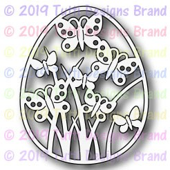 Tutti Designs - Cutting Die - Butterfly Spring Egg