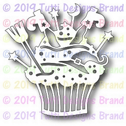 Tutti Designs - Cutting Die - Witchy Cupcake