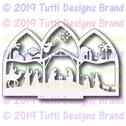 Tutti Designs - Cutting Die - Nativity Tryptich