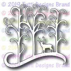 Tutti Designs - Cutting Die - Deer In Forest