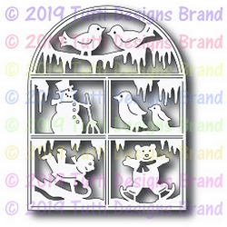 Tutti Designs - Cutting Die - Winter Wonderland Window