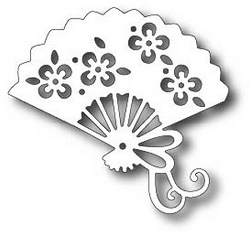 Tutti Designs - Cutting Die - Oriental Fan
