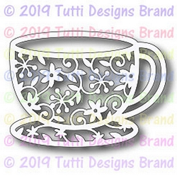 Tutti Designs - Cutting Die - Teacup