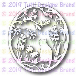 Tutti Designs - Cutting Die - Cat In The Garden