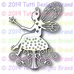 Tutti Designs - Cutting Die - Fairy With Wand