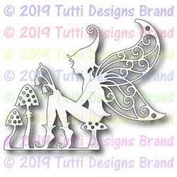 Tutti Designs - Cutting Die - Fairy on Toadstool