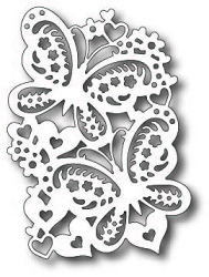 Tutti Designs - Cutting Die - Love Butterfly Duo