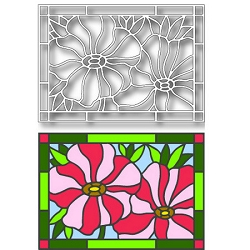 Tutti Designs - Poppies Stained Glass