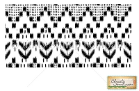 Unity Cling Rubber Stamp - by Christy Tomlinson - Ikat Love