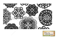 Unity Cling Rubber Stamp - by Christy Tomlinson - Grandma's Doilies