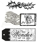 Unity Rubber Stamp Set - Wonder of It