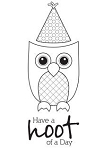 Unity Rubber Stamp Set - Hoot of a Day