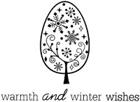 Unity Cling Rubber Stamp - My Little Shoebox Warmth & Winter Wishes