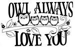 Unity Rubber Stamp - Simply I'll Always Love You