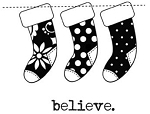 Unity Rubber Stamp Set - Simply Believe