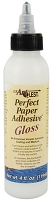 US Artquest - Perfect Paper Adhesive - 4 oz. Glossy