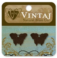 Vintaj-Natural Brass Altered Blanks-Bitsy Butterfly