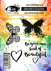 Visible Image - Clear Stamp - Own Kind of Beautiful