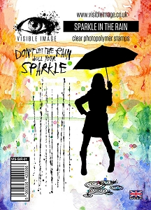Visible Image - Clear Stamp - Sparkle in the Rain
