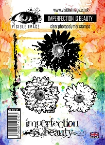 Visible Image - Clear Stamp - Imperfection is Beauty