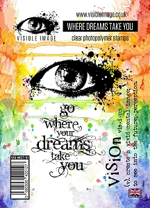 Visible Image - Clear Stamp - Where Dreams Take You
