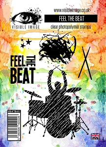 Visible Image - Clear Stamp - Feel The Beat
