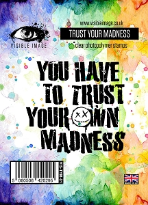 Visible Image - Clear Stamp - Trust Your Madness