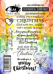 Visible Image - Clear Stamp - Sentimental Christmas