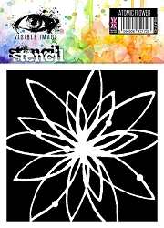 Visible Image - 6x6 Stencil -  Atomic Flower