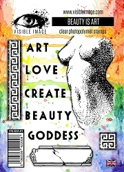 Visible Image - Clear Stamp - Beauty Is Art