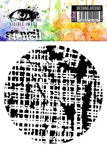 Visible Image - 6x6 Stencil - Stop Meshing Around