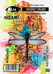 Visible Image - Clear Stamp - Dragonfly Dreams