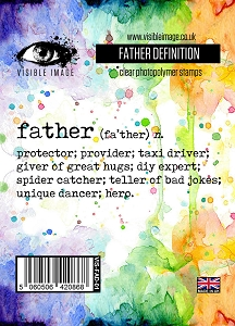 Visible Image - Clear Stamp - Father Definition