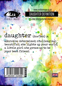 Visible Image - Clear Stamp - Daughter Definition