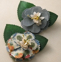 Webster's Pages - Spring Market - Fabric Flowers