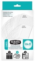 We-R-Memory Keepers - Albums Made Easy - Grid Cardstock Cards