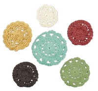 We-R-Memory Keepers - Antique Chic - Crochet Doilies