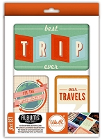 We-R-Memory Keepers - Jet Set Collection - Albums Made Easy - Journaling Cards