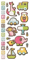 We-R-Memory Keepers - Baby Mine - Embossed Stickers