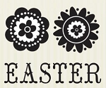 We-R-Memory Keepers Clear Stamp - Hippity Easter