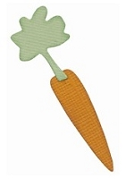 Lifestyle Crafts/We R Memory Keepers - Cutting dies - Carrot