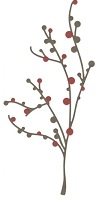 Lifestyle Crafts/We R Memory Keepers - Cutting dies - Branch & Berries