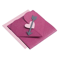 Lifestyle Crafts/We R Memory Keepers - Cutting dies - Valentine Matchbook