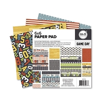 We-R-Memory Keepers - Game Day Collection - 6x6 Paper Pad :)