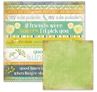 We R Memory -Good Day Sunshine - Die Cut Cardstock - Lynn