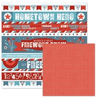 We-R-Memory Keepers - Red White Blue 12