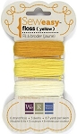 Sew Easy Piercer -  Floss - Yellows